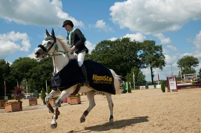 concours hippique paarden