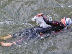 zwemmen gracht Meppel